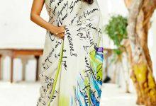 Amazing saree drapes