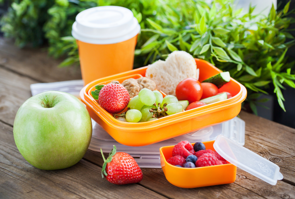 Kids' Lunch box - fruits