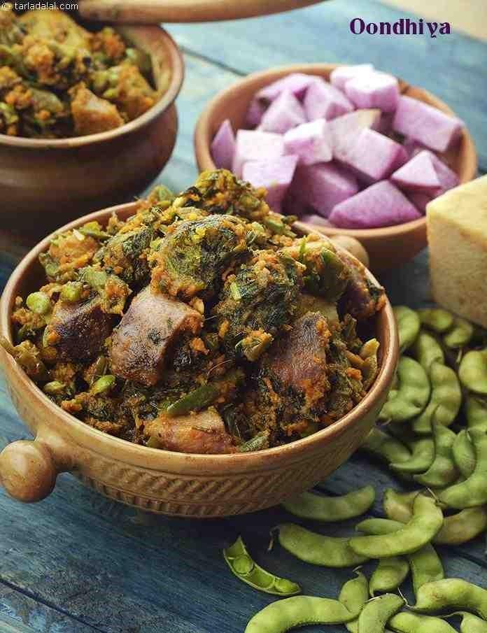 Makar Sankranti recipes - Undhiyu