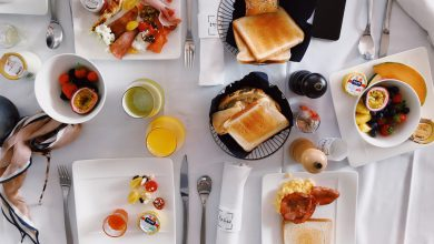 New year brunch plan for me-time